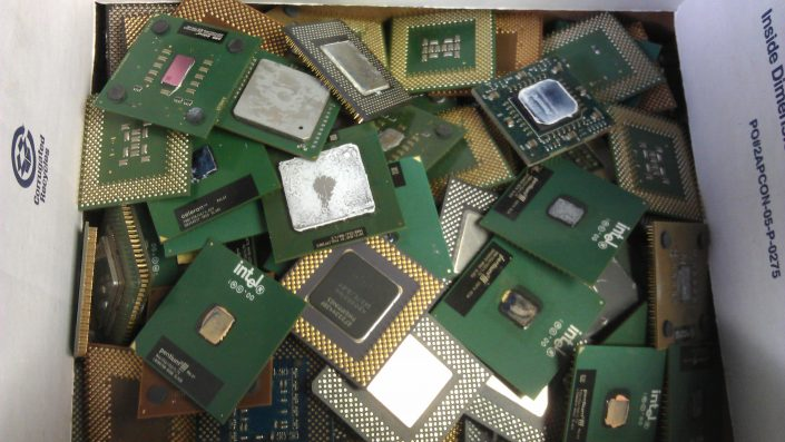 Box of old Processors